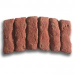 Gryphonn Edgings Alternative Antique Brick Curved