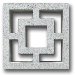 Screenblock Cubic Grey