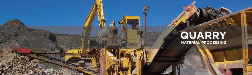 Gryphonn Concrete Quarry Material Processing