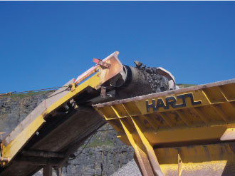 Gryphonn Concrete Trefil Quarry Crusher