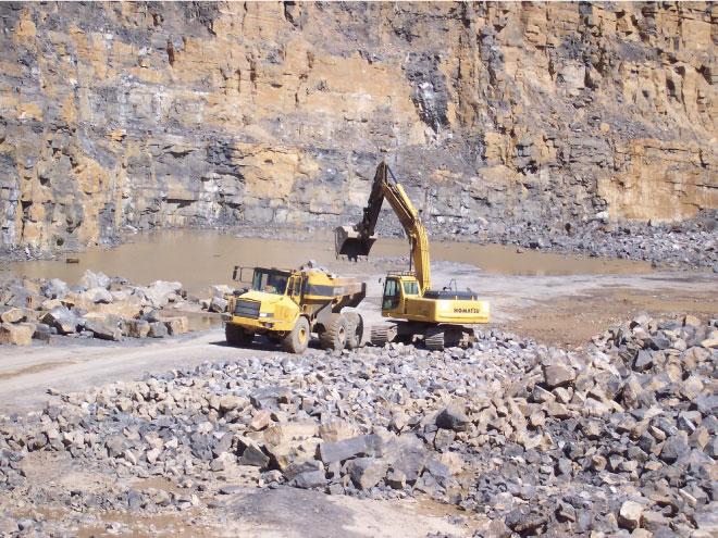 Gryphonn Concrete Trefil Quarry Face