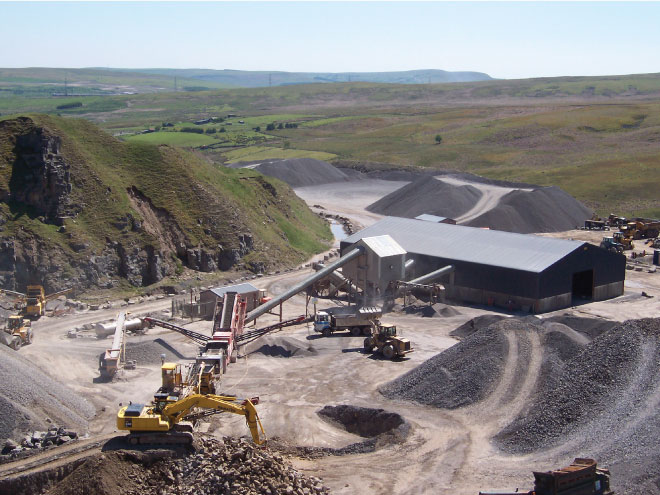 Gryphonn Concrete Trefil Quarry
