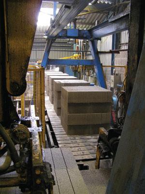 Gryphonn Concrete Block Conveyer 2