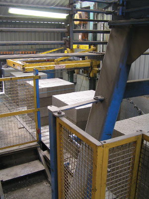 Gryphonn Concrete Block Conveyer