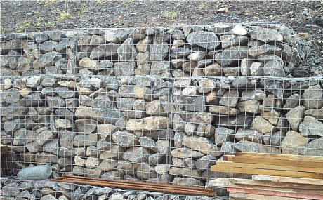 Gryphonn Concrete Quarry Gabionstone