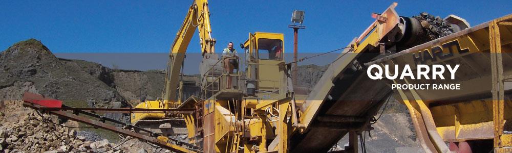 Gryphonn Concrete Quarry Product Range